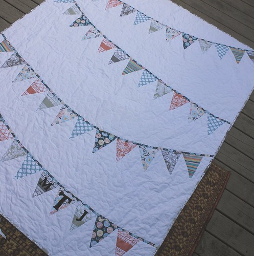 Bunting Flag Quilt