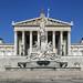 austrian parliament building by Sabinche
