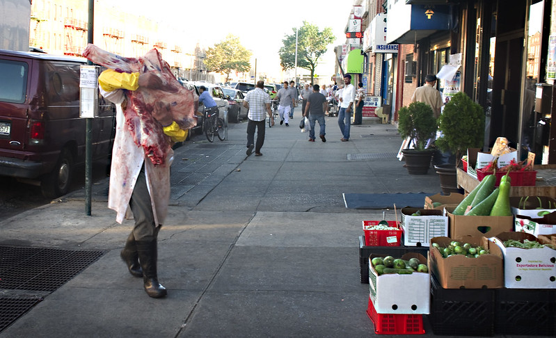 Meat Man, McDonald Avenue, Brooklyn