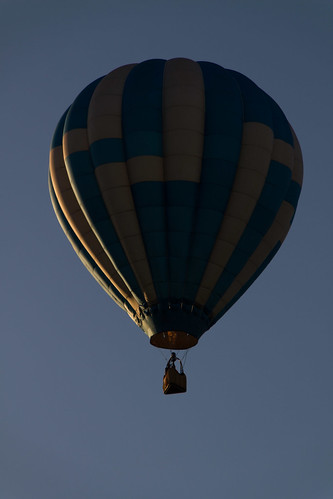 Dark side of the balloon