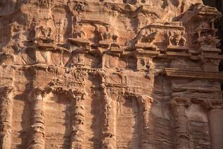 Image of Palace Tomb. jordan nabatanean petra unescoheritage maangovernorate
