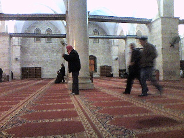 Masjid Al Aqsa Musallah sidewards