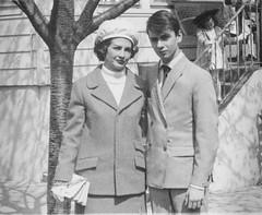 M and Secret Agent Son, around 1968