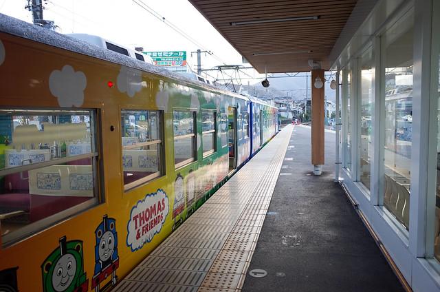 Photo:停靠在大月站的湯瑪士火車 By tsaiid