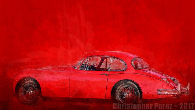 Jaguar XK150 ~ l'art et la voiture