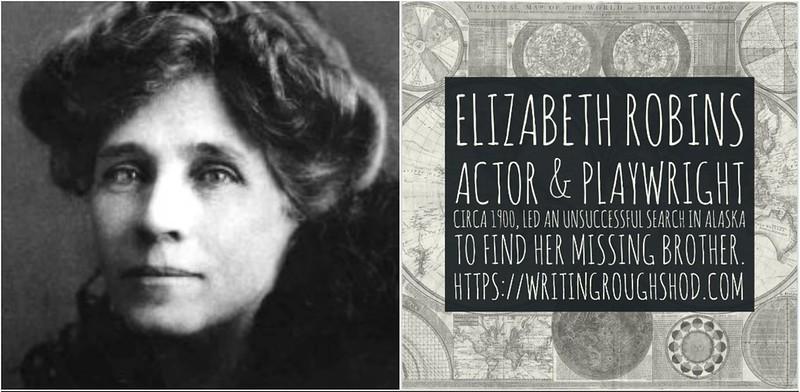 ELIZABETH ROBINS (C.E. RAIMOND) #100travelHERS