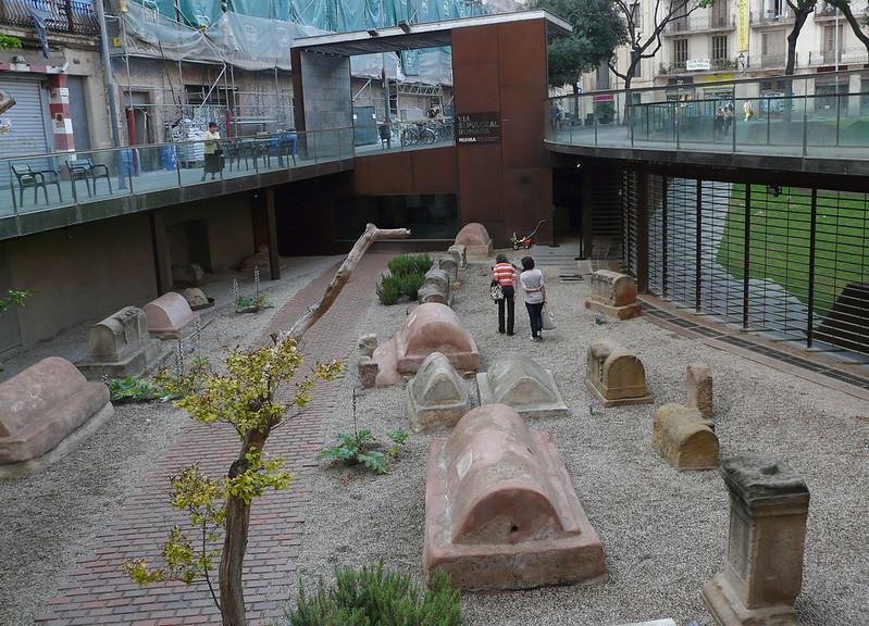 MUHBA - Via Sepulcral Romana