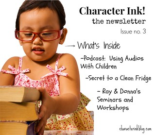 Character Ink Newsletter no. 3