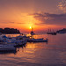 Sonnenuntergang in Rovinj by Dominik Schraudolf