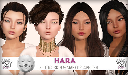 Hara - Lelutka Skin Appliers