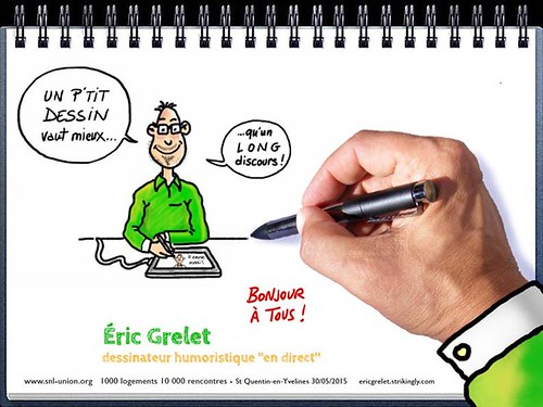 Dessin d' Eric Grelet - Table ronde