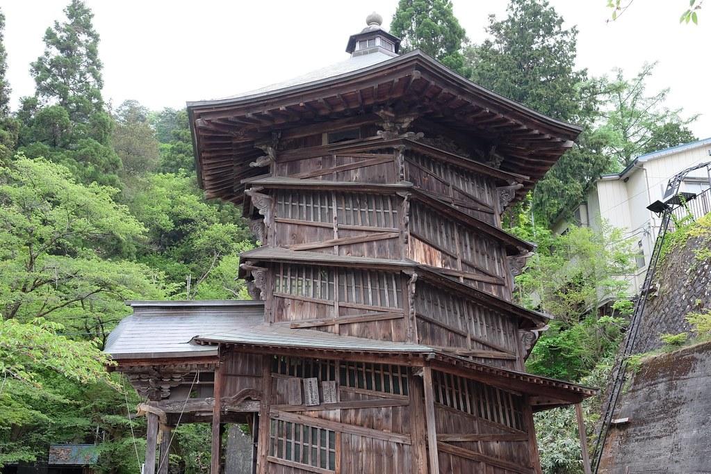 Sazaedo Double-helix Pagoda