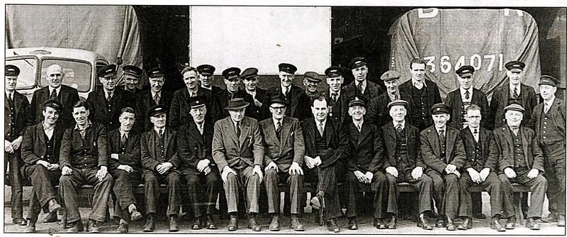 GWR Goods Yard 1953