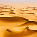 Dunes in the Egyptian Sahara captured at sunrise by Carl Zeiss Lenses