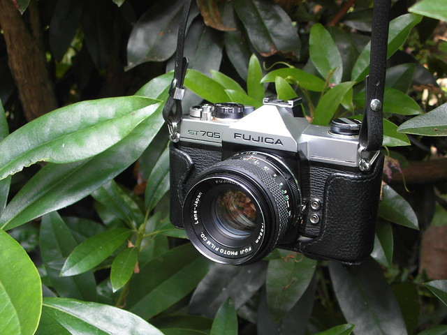 Fujica ST705 and Fujinon f1.8 55mm