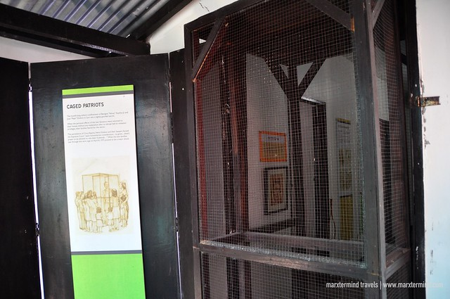 Caged Patriots at Aquino-Diokno Memorial