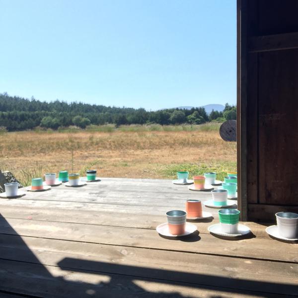 crafts in a barn