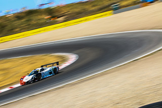 The NGMsport Mosler at Circuit Zandvoort in Holland.