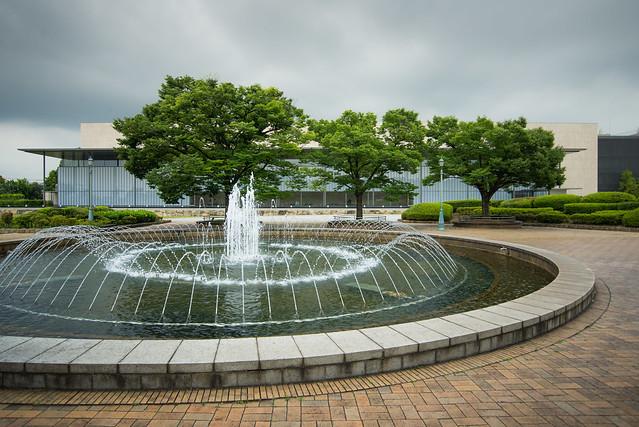 Garden of Kyoto National Museum, Heisei-Chishinkan Wing (京都国立博物館 平成知新館).