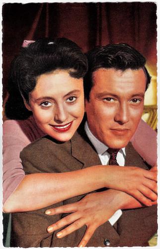 Caterina Valente and Dietmar Schönherr in Bonjour Kathrin (1956)