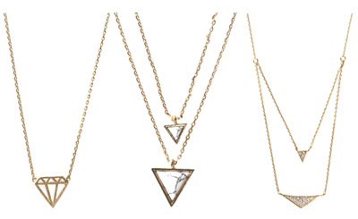 Wanderlust + Co necklaces