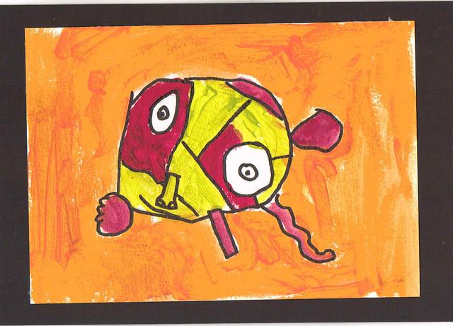 picasso dog #2 Rafe