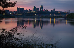 View at Kaw Point