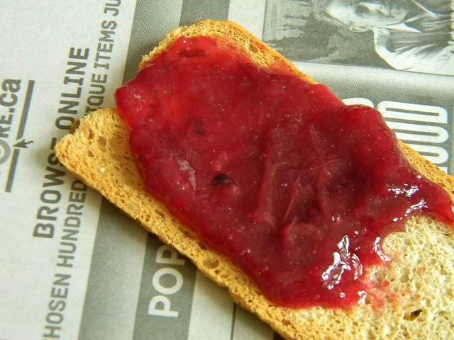 Gilded Blueberry Rhubarb Jam
