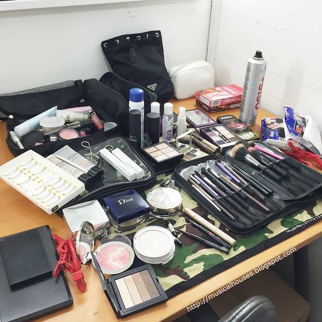 Hada Labo BTS Makeup Artist Danny