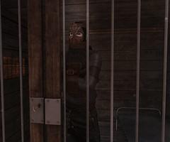 I keep it caged