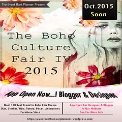 The Boho Culture Fair 2015