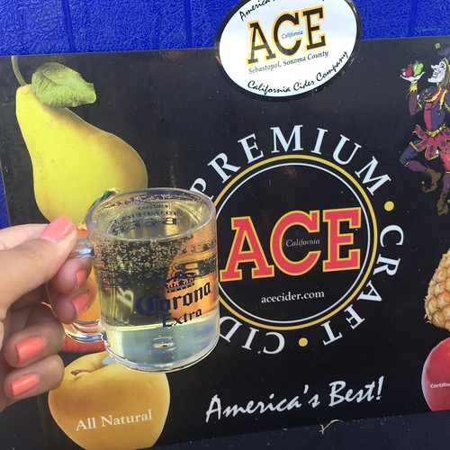 Ace Cider at LA Weekly's Burgers and Beer