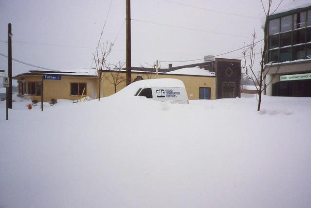 Buried Island Temperature Control van. Photo by Kevin Lintern