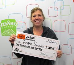 Tamara Swarner - $1,000 Idaho Raffle