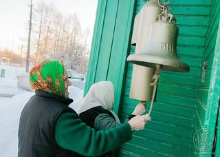 Литургия в в селе Рогавка 190
