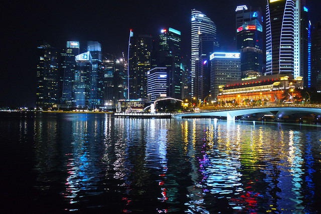 Lights on the Singapore River 2