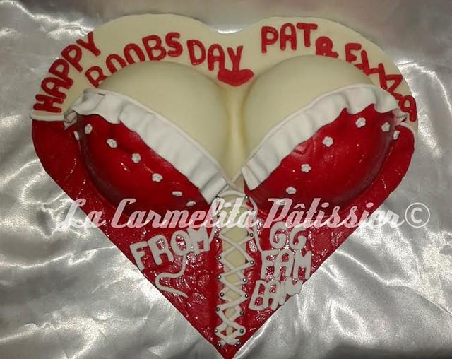 Boobs Cake by Sel Carmen Padua