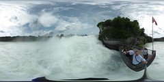 Rhine Falls from Känzeli
