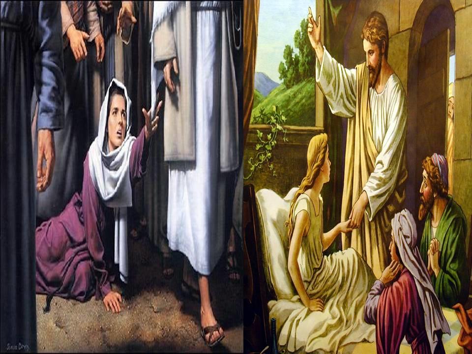 CHÚA NHẬT XIII THƯỜNG NIÊN B Mc 5,21-43