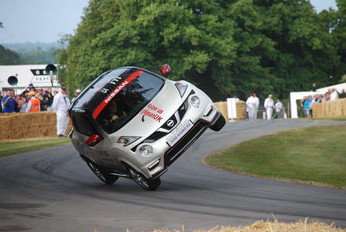 Terry Grant, Nissan Juke Nismo RS, Goodwood Festival of Speed 2015