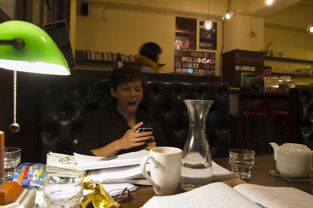 Hi Charlotte! At Sugar Man Cafe