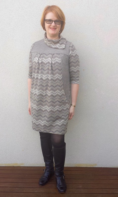 Lekala 4393 knit dress