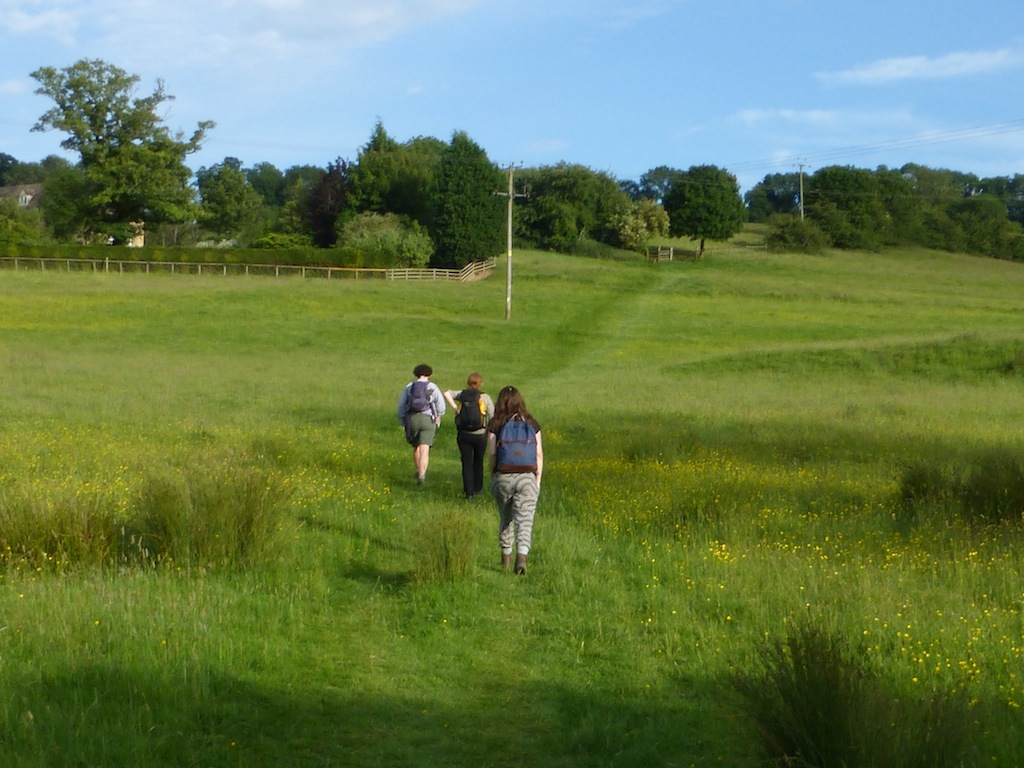 The final climb after Blockley Moreton-in-Marsh Circular