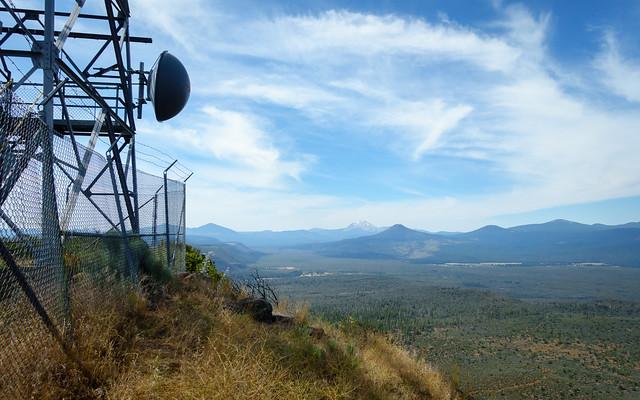 Mt Lassen from Hat Creek lookout station