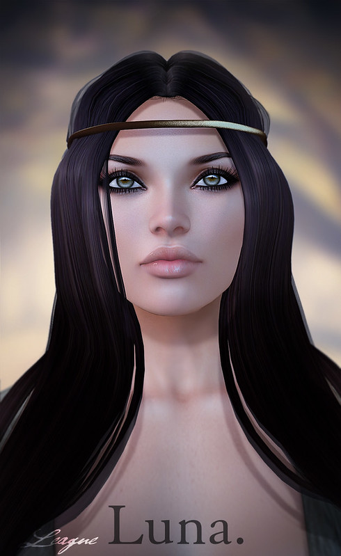 League Lelutka Mesh Head Appliers -Luna -Coming Soon!