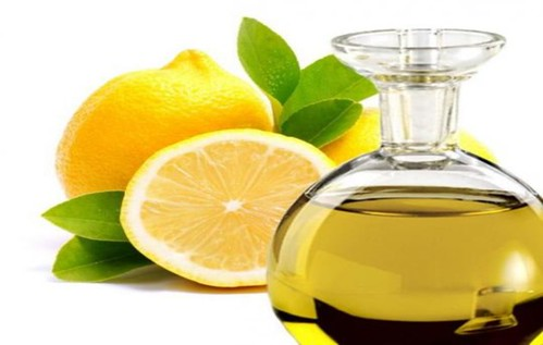 aceite de oliva y limon