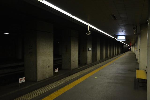 東成田駅:ホーム