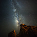 Milky way Panorama at Aphrodite's Rock - Cyprus by Alex Apostolopoulos