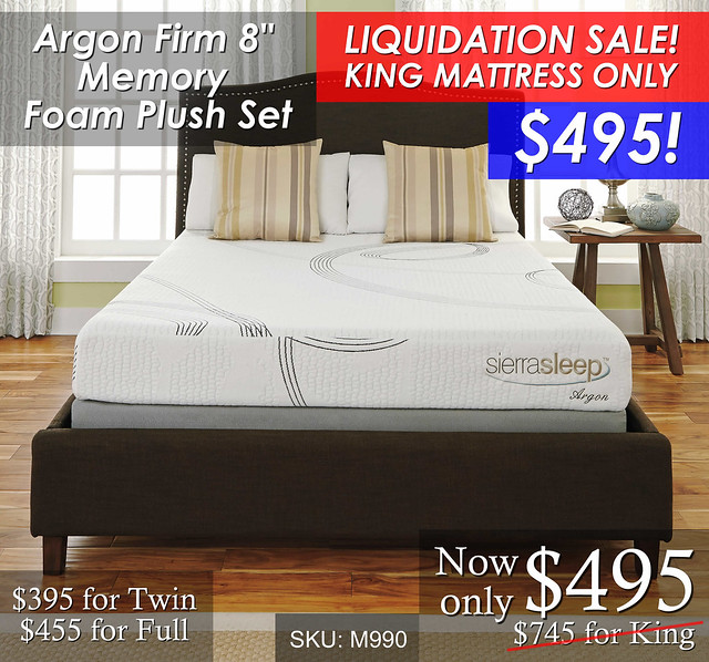 Argon Memory Foam PNG KING SALE2