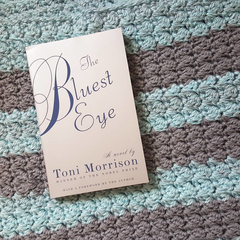 #skyereads 2015 book 16 // The Bluest Eye by Toni Morrison (really liked it) (blanket by @shelltrice!)